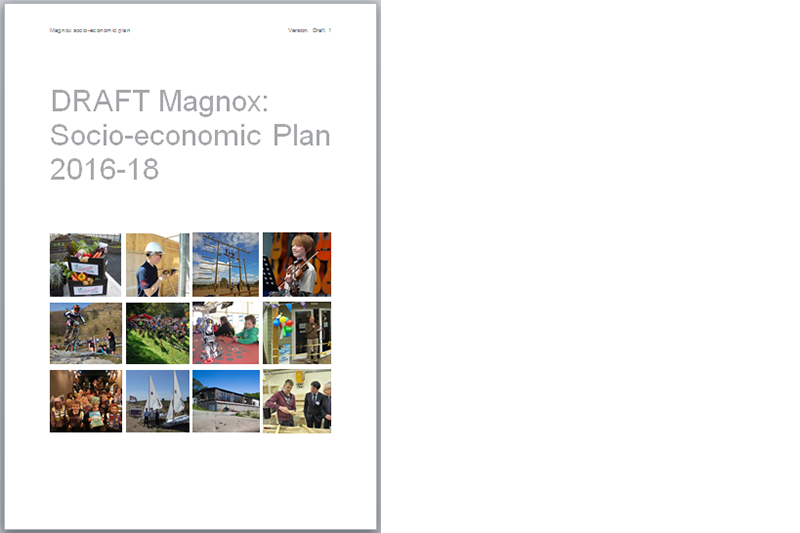 Consultation on the Magnox draft Socio-economic Plan has now closed